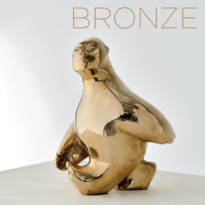 Leading Australian sculptor and artist Vince Vozzo - Bronze