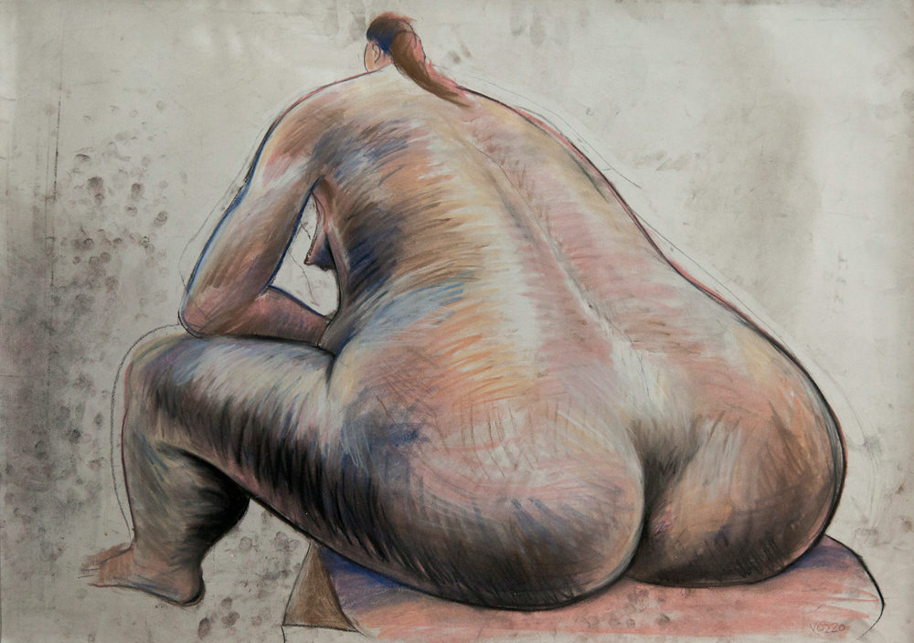 Leading Australian sculptor and artist Vince Vozzo - Life Drawing