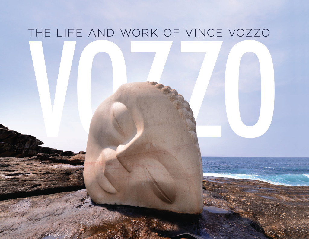 Leading Australian sculptor and artist Vince Vozzo - book cover