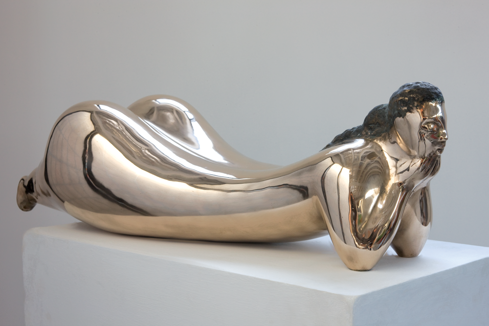 Leading Australian sculptor and artist Vince Vozzo - Woman Waiting